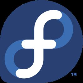 Fedora logo fosslovers