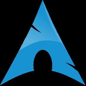 archlinux logo fosslovers