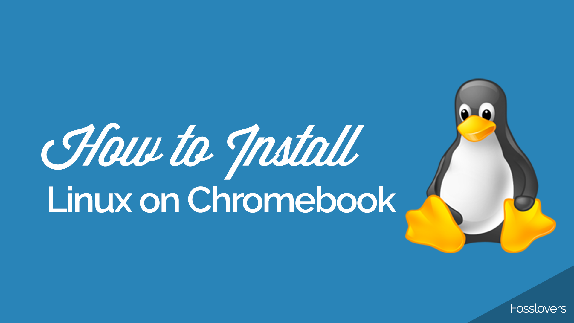 how to install linux on chromebook
