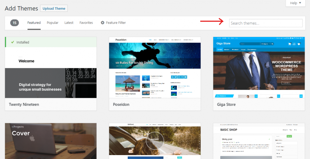How to Install a WordPress Theme 02