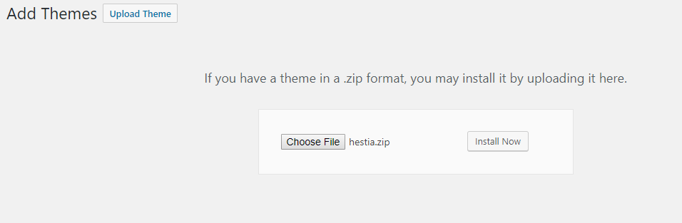 How to Install a WordPress Theme 09