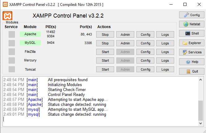 how to install wordpress on localhost via xampp 1