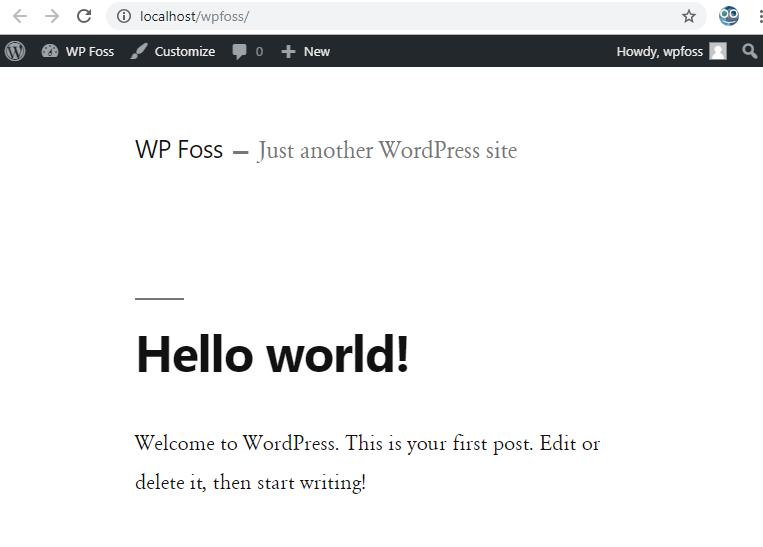 how to install wordpress on localhost via xampp 12