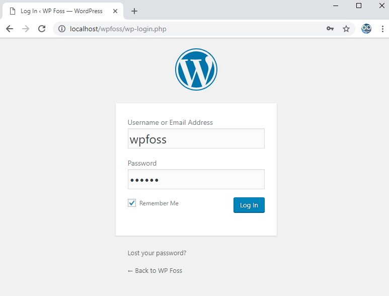 how to install wordpress on localhost via xampp 13