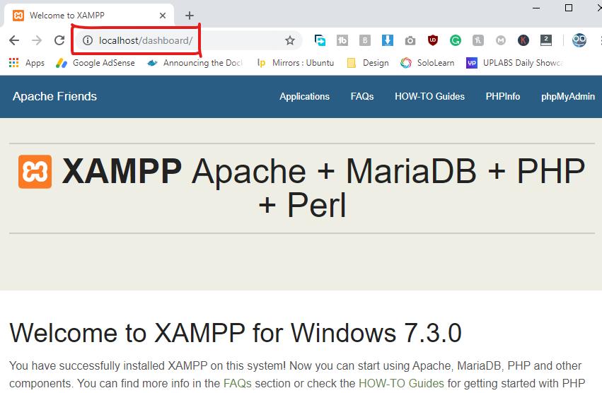 how to install wordpress on localhost via xampp 2