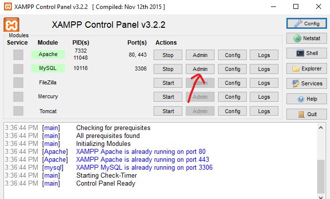 how to install wordpress on localhost via xampp 5