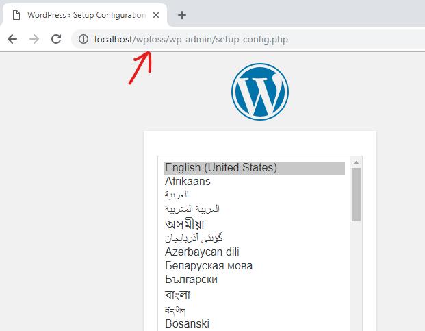 how to install wordpress on localhost via xampp 8