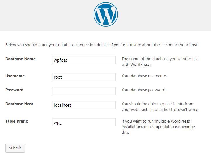 how to install wordpress on localhost via xampp 9