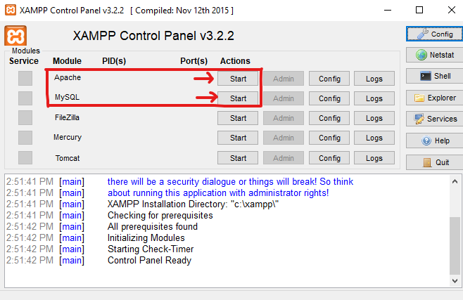 how to install wordpress on localhost via xampp