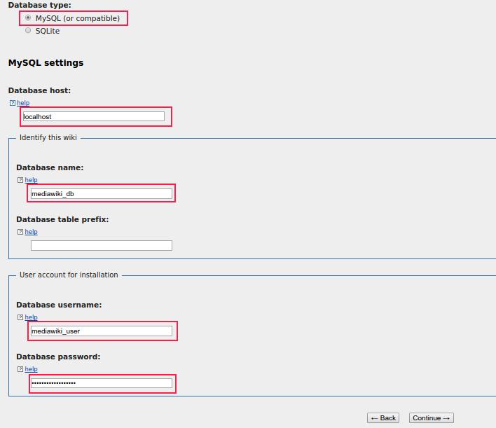 Deploying MediaWiki with MariaDB on Fedora 22 4