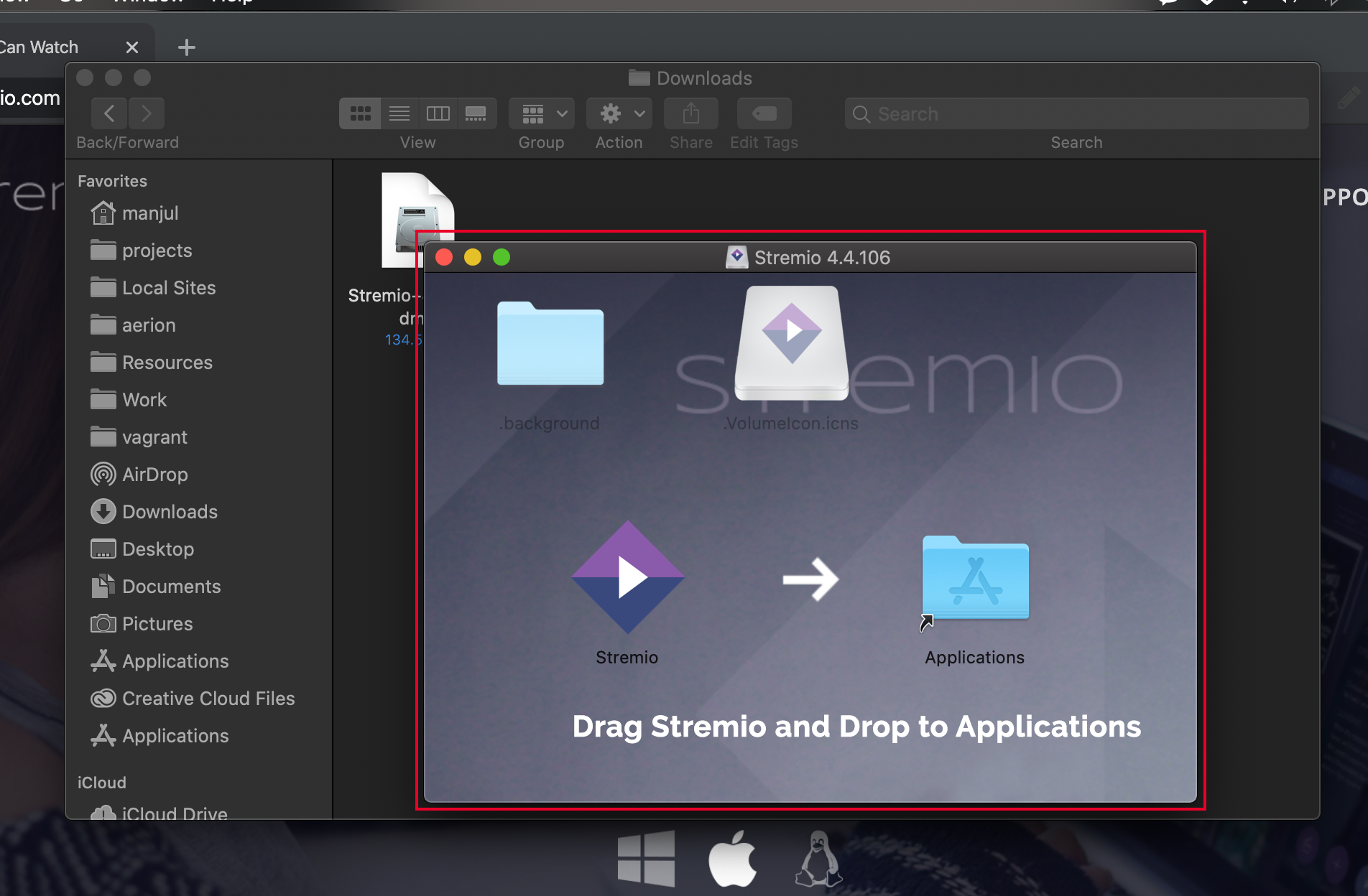 How to install Stremio on macOS 4