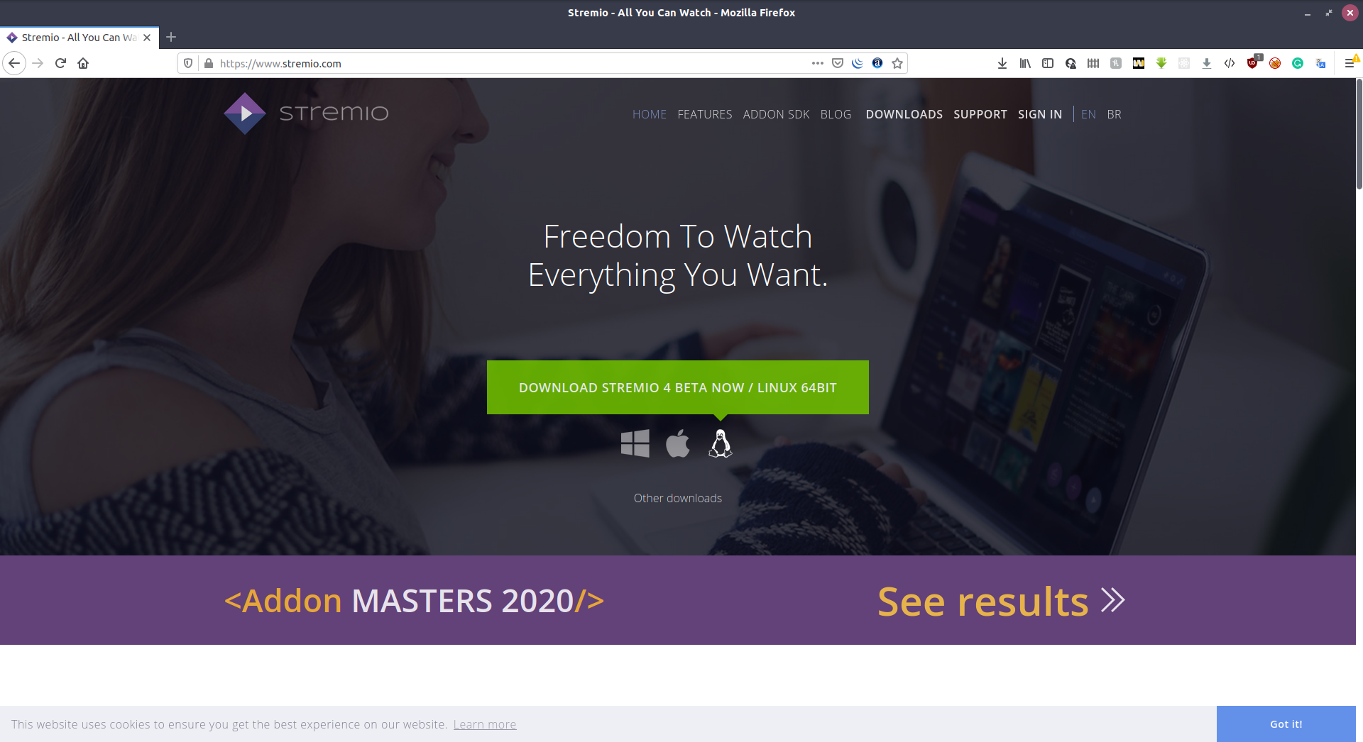 How to install Stremio on Linux 1